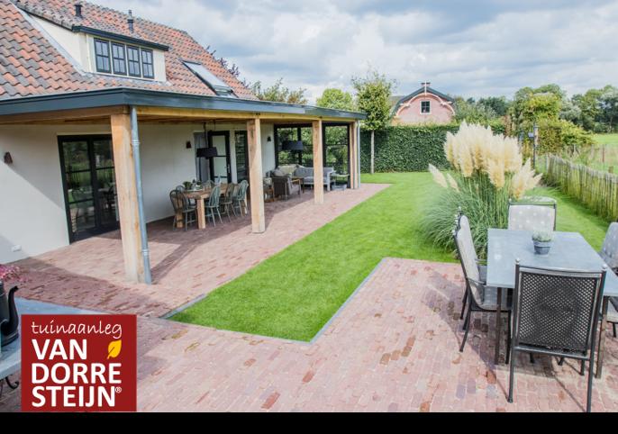 Landelijke tuin Soest tuinaanleg van Dorresteijn