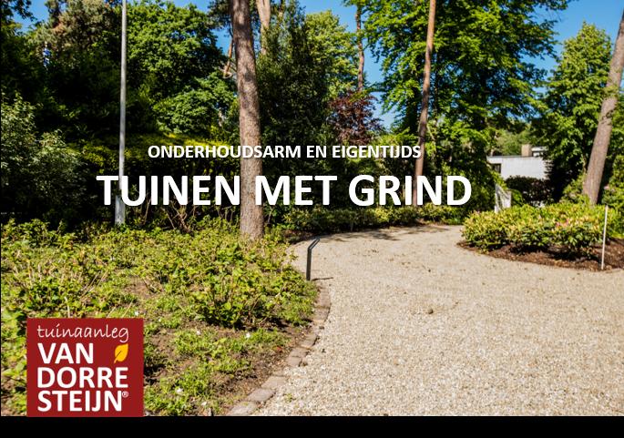 Onderhoudsvrije tuin tuinaanleg van Dorresteijn